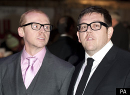 Pegg And Frost On Spielberg: You Just Say 'Scratch My Tummy'