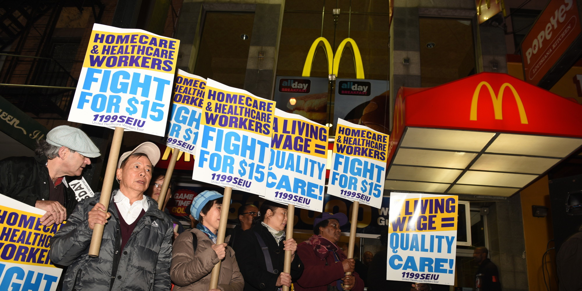 it s time to make the minimum wage a living wage the huffington post