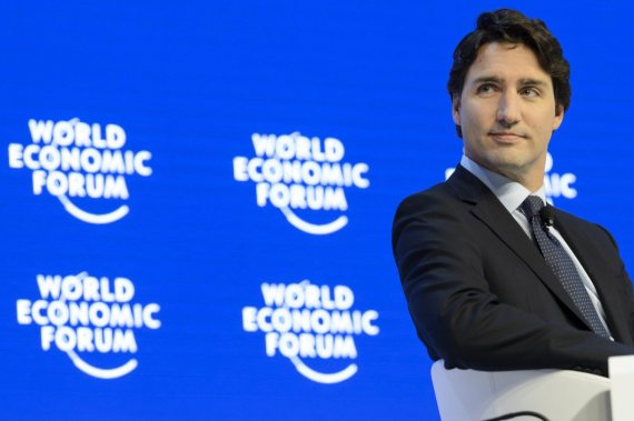 trudeau world economic forum