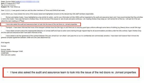 door email