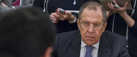 RUSSIAN FOREIGN MINISTER LAVROV