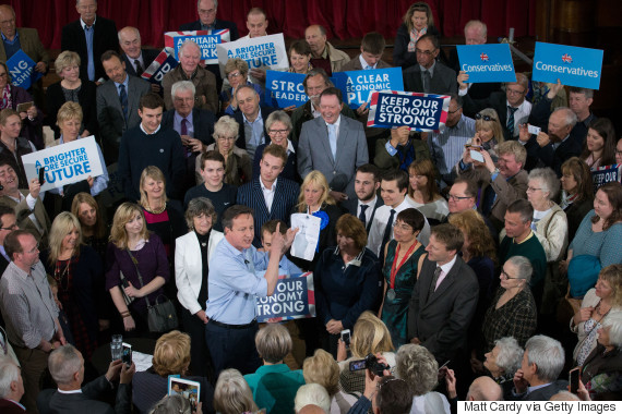david cameron election campaign rally cornwall