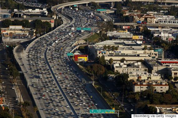 rush hour traffic los angeles