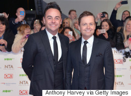 Ant And Dec In Least Surprising NTAs Victory Ever