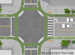 Ces intersections feraient le bonheur des cyclistes (et des automobilistes)