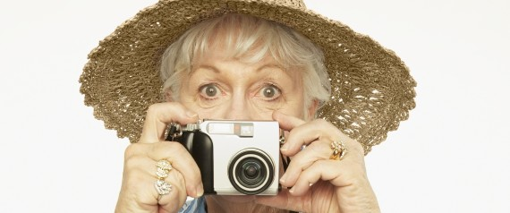 ELDERLY PHOTOGRAPHER