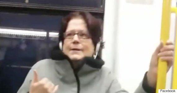 tram racist
