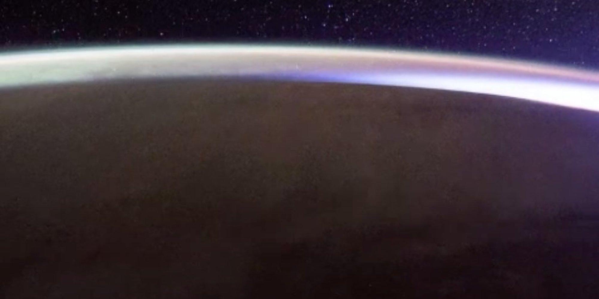 sunrise from international space station - photo #28
