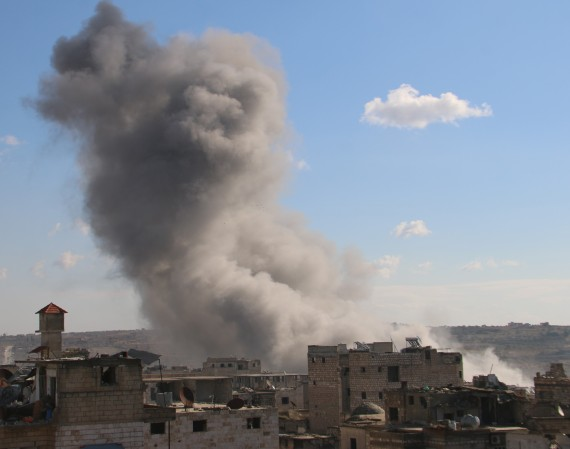 air strike syria
