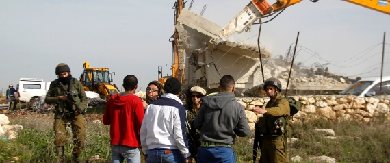 ISRAEL DEMOLISHES HOUSES