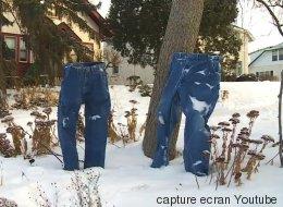 À Minneapolis, on fait congeler les pantalons (VIDÉO)