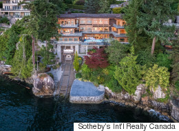 West Van Home Has A Garage To Park The Yacht