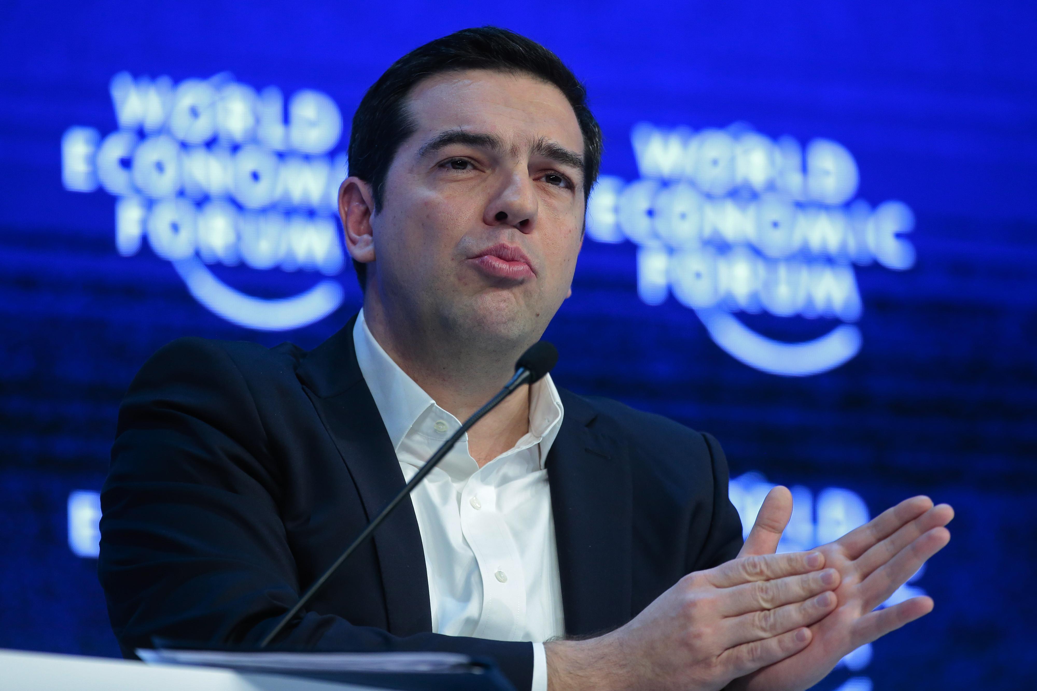 tsipras davos