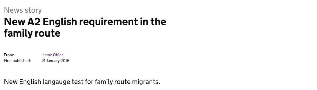 quand le gouvernement fait une faute en annon u00e7ant un test d u0026 39 anglais destin u00e9 aux migrants