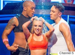 Jorgie Porter Puts On A Raunchy Display On 'Lip Sync Battle'