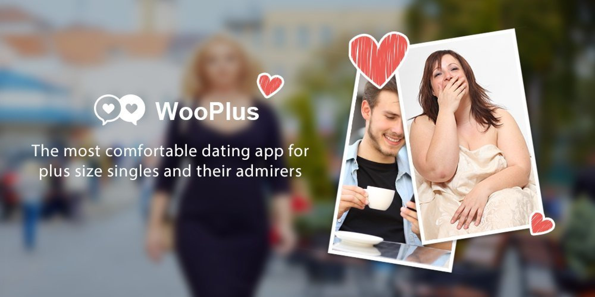 introducing wooplus the new dating app for 39 plus size. Black Bedroom Furniture Sets. Home Design Ideas