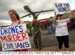 A Drone Protestor Heads to Jail
