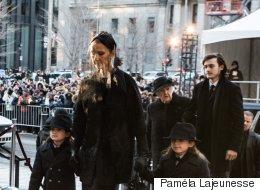 Voyez les photos des funérailles de René Angélil (PHOTOS)