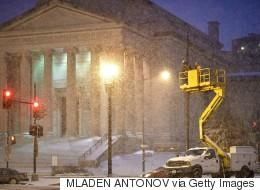 La tempête de neige historique atteint les États-Unis (PHOTOS)