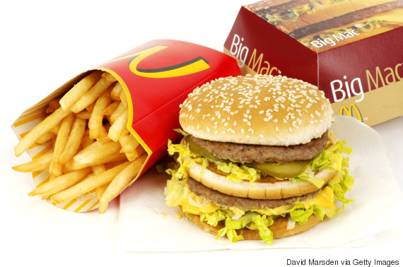 big mac meal