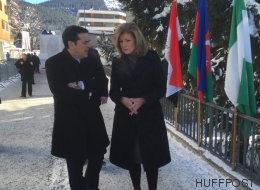 Alexis Tsipras partage avec Arianna Huffington ses espoirs sur l'avenir de la Grèce