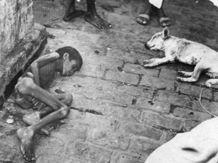 famine bengal