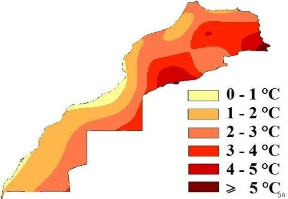 maroc temperatures futu