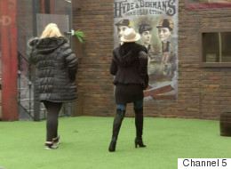 Gemma And Danniella In 'CBB' Walk-Out