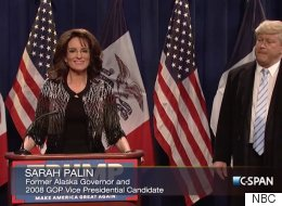 Tina Fey Revives Her Epic Sarah Palin Impression For Trump Endorsement Sketch