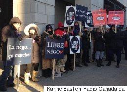 Les cols blancs de Montréal en grève dès lundi