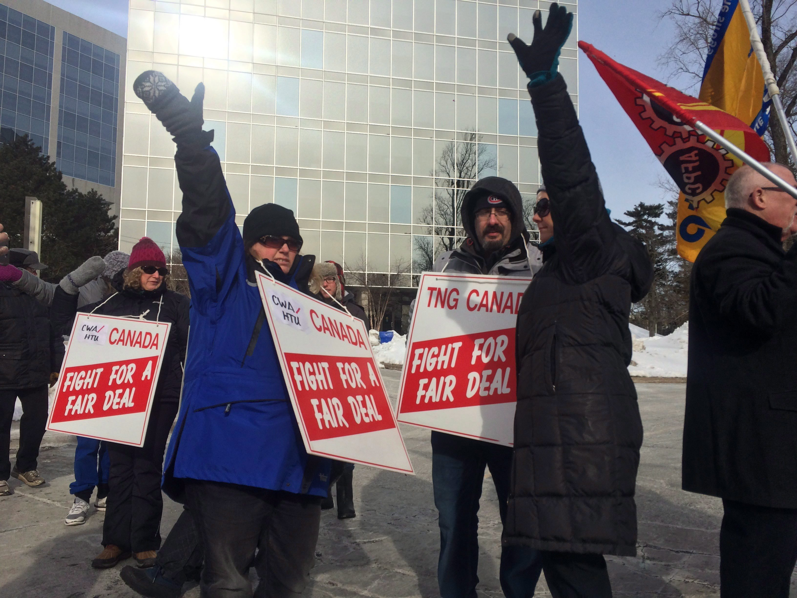 halifax chronicle herald strike