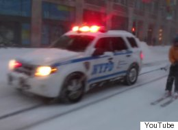 Daring Jonas Snowboarder Receives Unexpected Response From NYPD