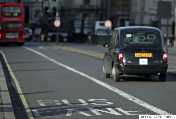uk bus lane