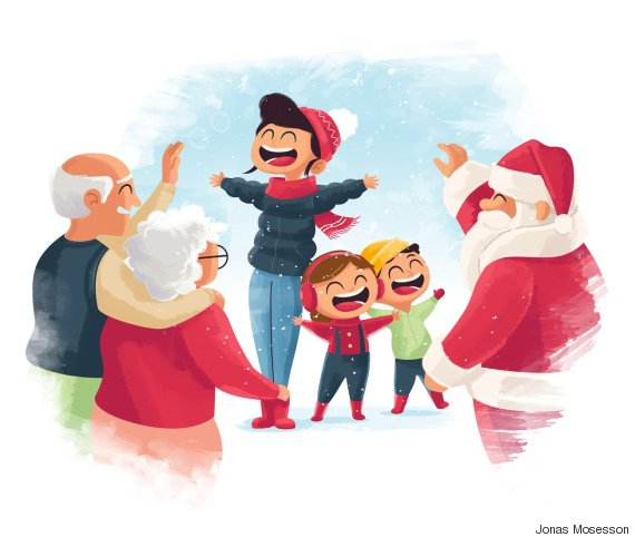 family meeting santa