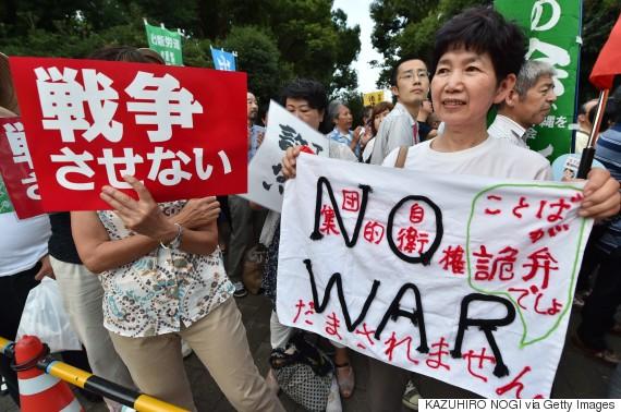 japan war protest