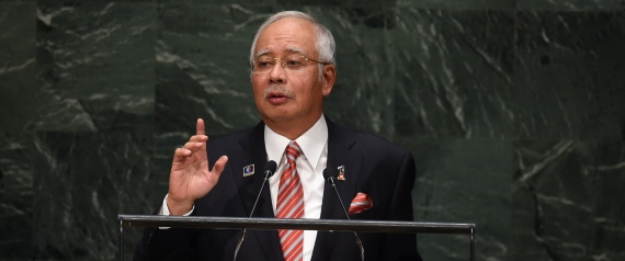 MALAYSIAN PRIME MINISTER NAJIB ABDUL RAZAK