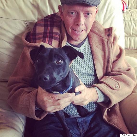 man saved by dog