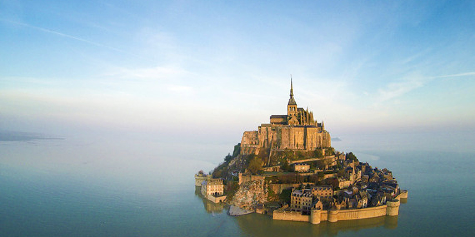 Pilgrimage to mont saint michel huffpost - Saint james mont saint michel ...