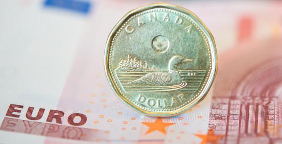 canadian dollar euro