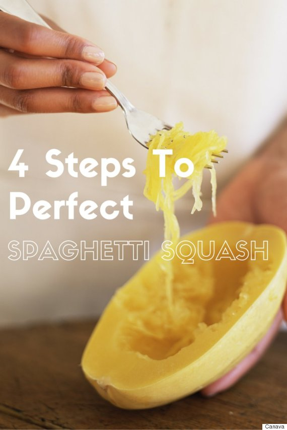 spaghetti squash steps