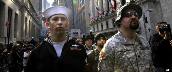 Veterans Occupy Wall Street