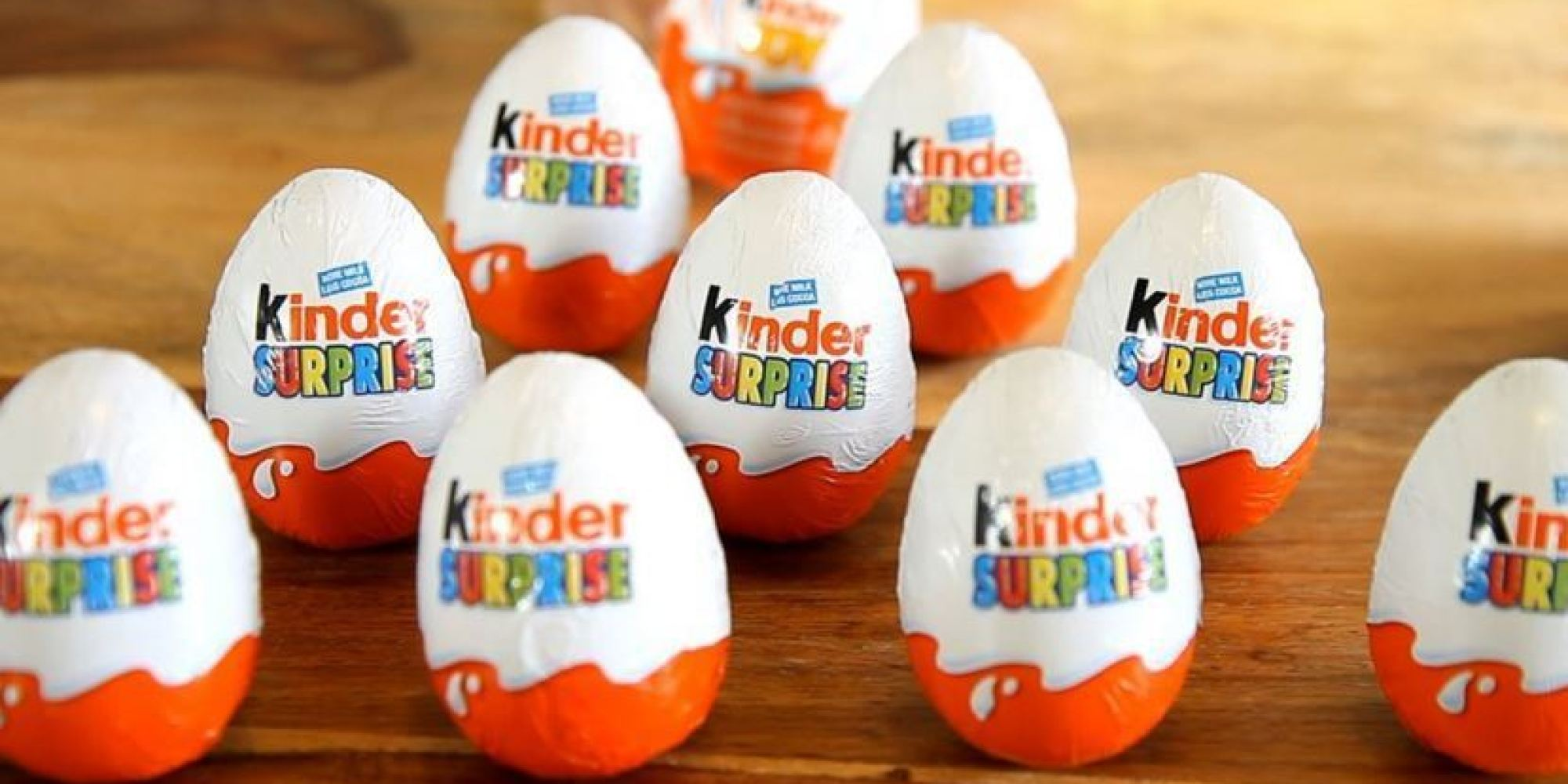 Kinder Surprise USA: Why These Eggs Are Banned South Of The Border