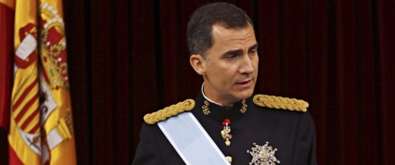 PHILIP VI KING OF SPAIN