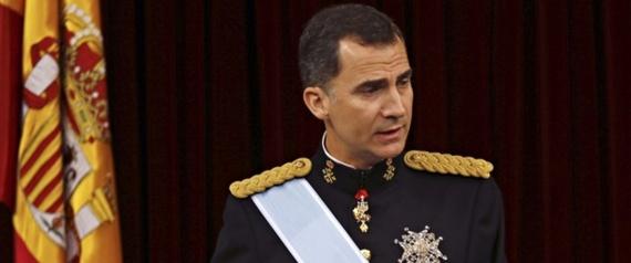 PHILIP VI KING OF SPAIN