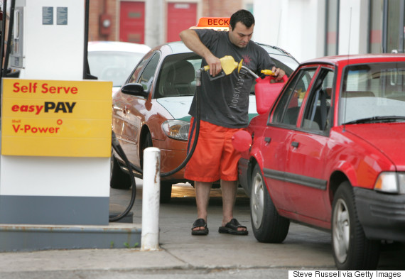 shell gas station canada