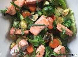 Vite fait, Bien fait: saumon fumé maison et légumes d'hiver