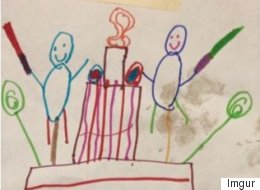 Baker Brings 6-Year-Old's Dream Cake Drawing To Life