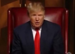 Donald Trump Takes On Donald Trump In 'The Apprentice: President Edition'