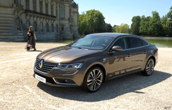 la renault talisman a t lue la plus belle voiture de l 39 ann e 2015. Black Bedroom Furniture Sets. Home Design Ideas