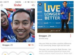 A Politician Tried To Campaign On Tinder, And Obviously It Didn't Go Well